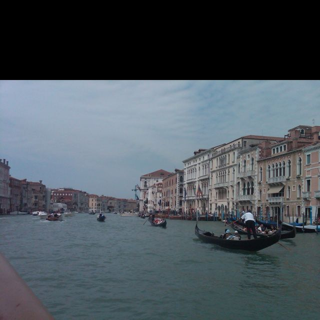 Venice, the Grand Canal.  If you have never been to Venice, then you should definitely plan a trip there.  If you have been there already... then what are you waiting for?  Go back again as soon as possible!