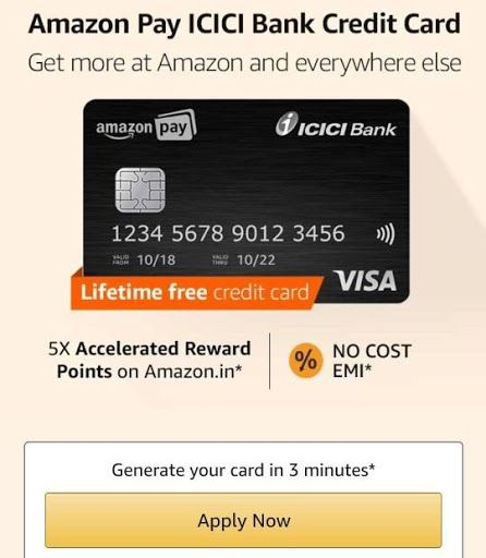 Amazon Visa Card Online Banking
