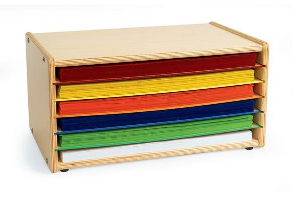 Organization Of Working Files 11x17 Shelves Construction Paper Storage Paper Organization Paper Storage