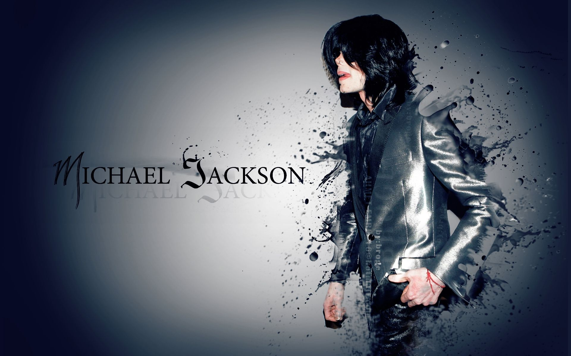 michael jackson animated wallpaper |  wallpapers.biz/michael