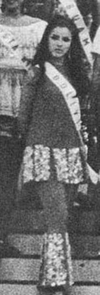 Luz María Rojas - Miss Universe Bolivia 1969