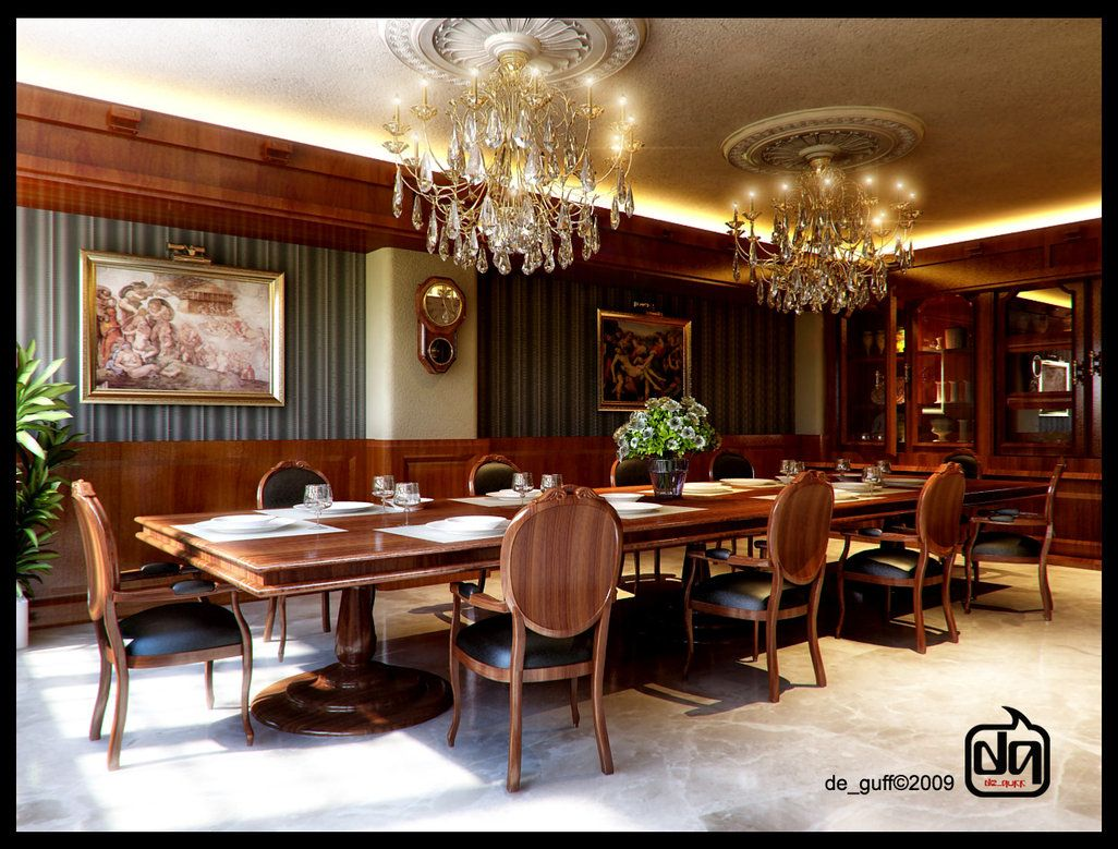 Creative classic dining room by deguff beautiful spaces decor