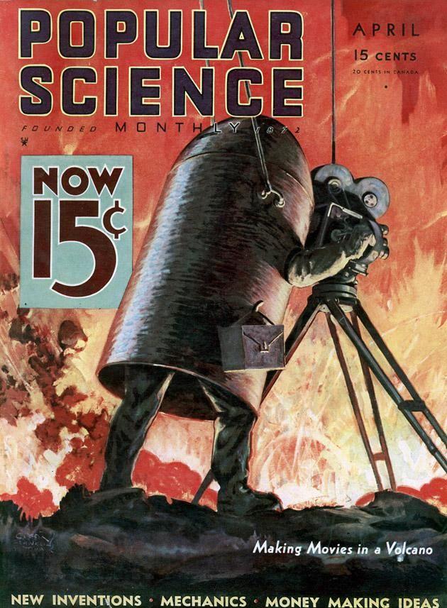 Popular Science magazine | Retro futurismo | #Covers #Hobbies  #40s #50s