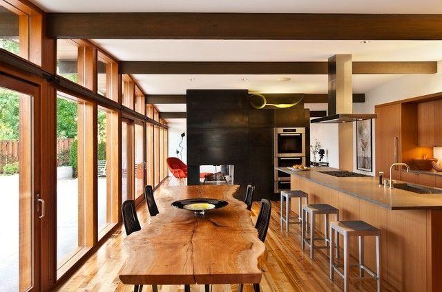 table en bois massif brut 28 tables manger rustiques. Black Bedroom Furniture Sets. Home Design Ideas