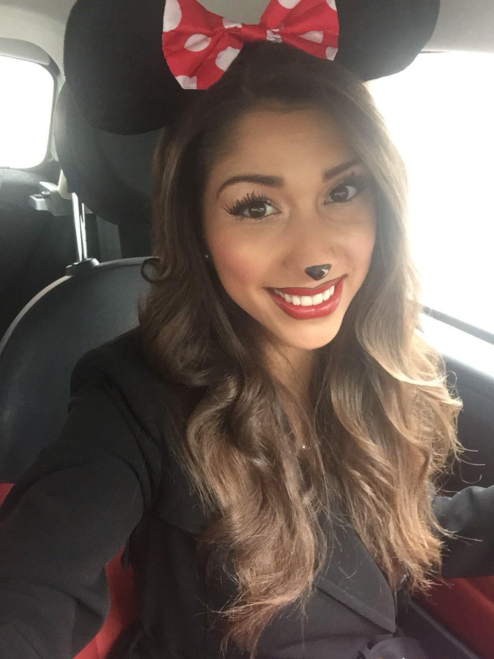 Minnie Mouse Costume Face Makeup - Mugeek Vidalondon