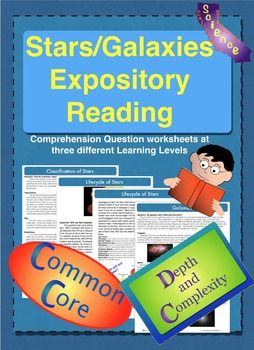 Stars and galaxies guided reading includes h r diagram worksheets stars and galaxies expository reading includes h r diagr ccuart Images