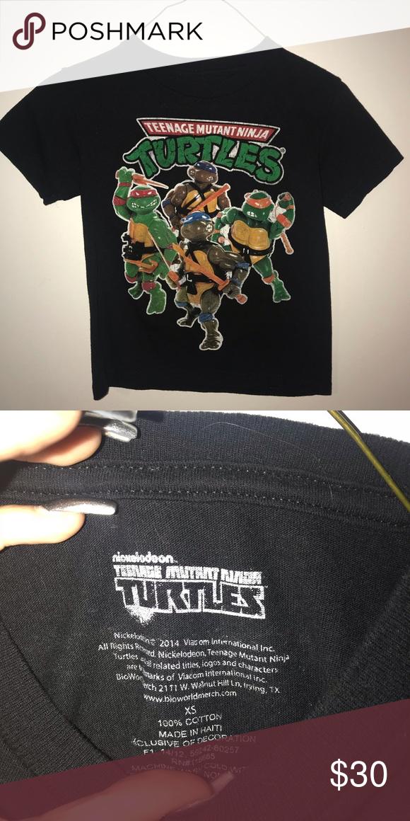 1d1b9bced kids mutant ninja turtles t shirt worn once Nickelodeon Shirts & Tops Tees  - Short Sleeve