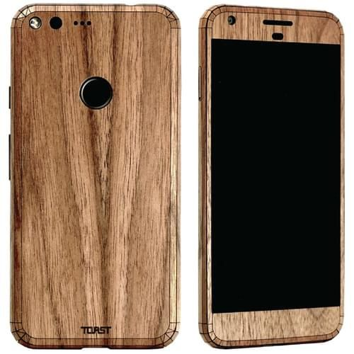 Toast Has A New Real Wood Skin In Store For Pixel XL #android #google #smartphones