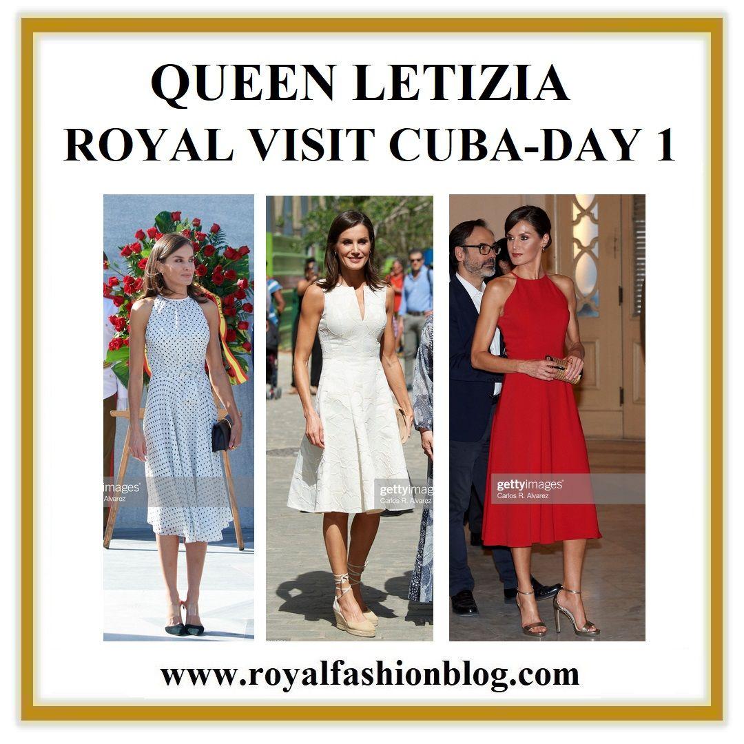 QUEEN LETIZIA - ROYAL VISIT CUBA - DAY 1 #visitcuba