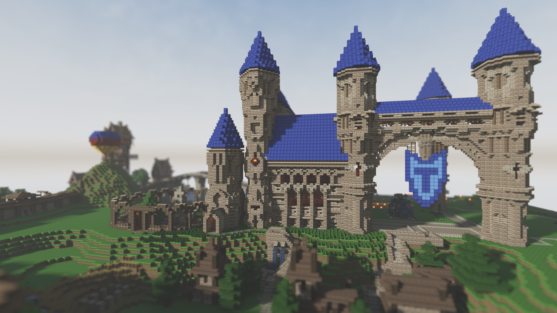 Storm hold minecraft castle minecraft castles for Small chateau