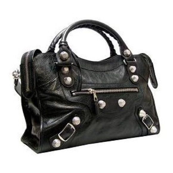 10dfc0a87f TRADE***my Balenciaga Black City GIANT hardware Looking to trade my  authentic EUC Balenciaga City black giant silver hardware- pref for a  Chanel, Givenchy, ...