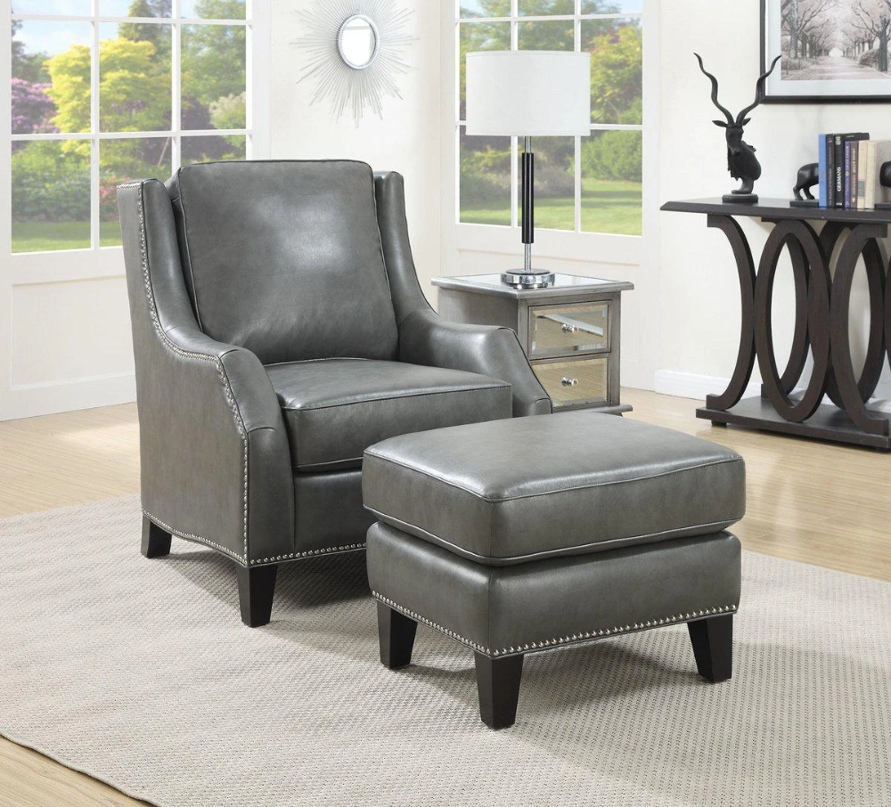 Accent Chair Ottoman Grey Leather Accent Chair Slipcovers For Chairs Accent Chairs