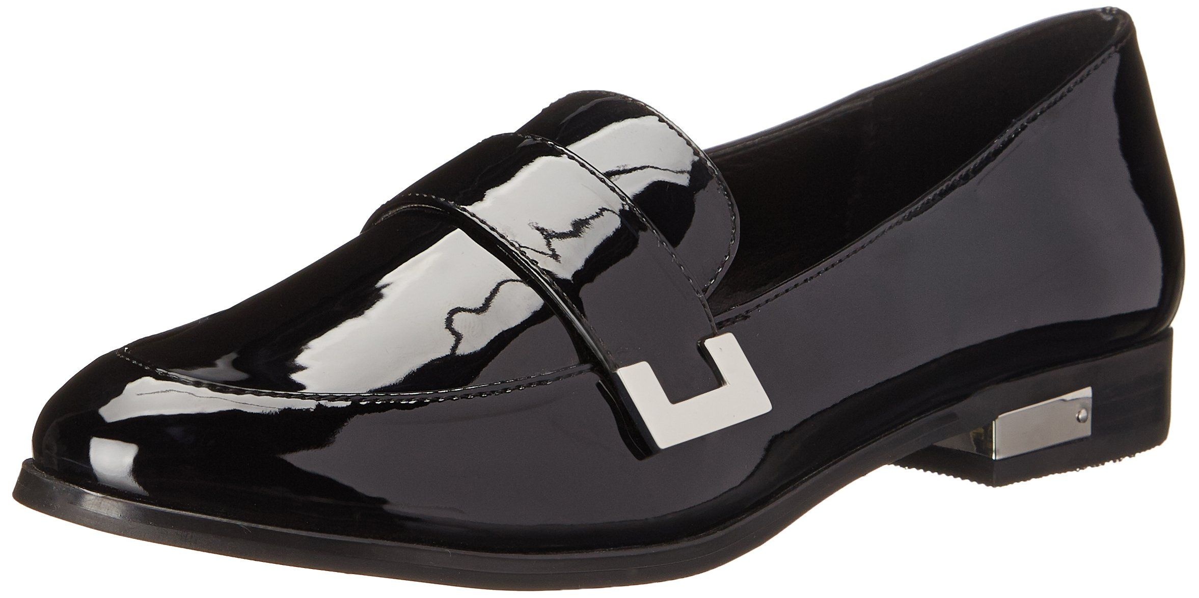 b356a5a3894fd Amazon.com: Marc Fisher Women's Pagan Penny Loafer, Black, 7.5 M US ...