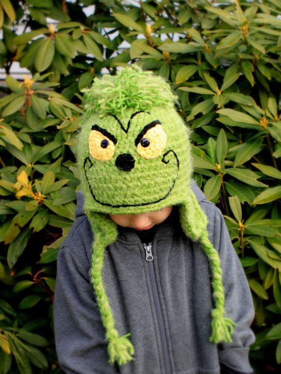 Crochet Grinch hat  Kristin Godwin .. guess what Jackson is getting ... 060e5527838