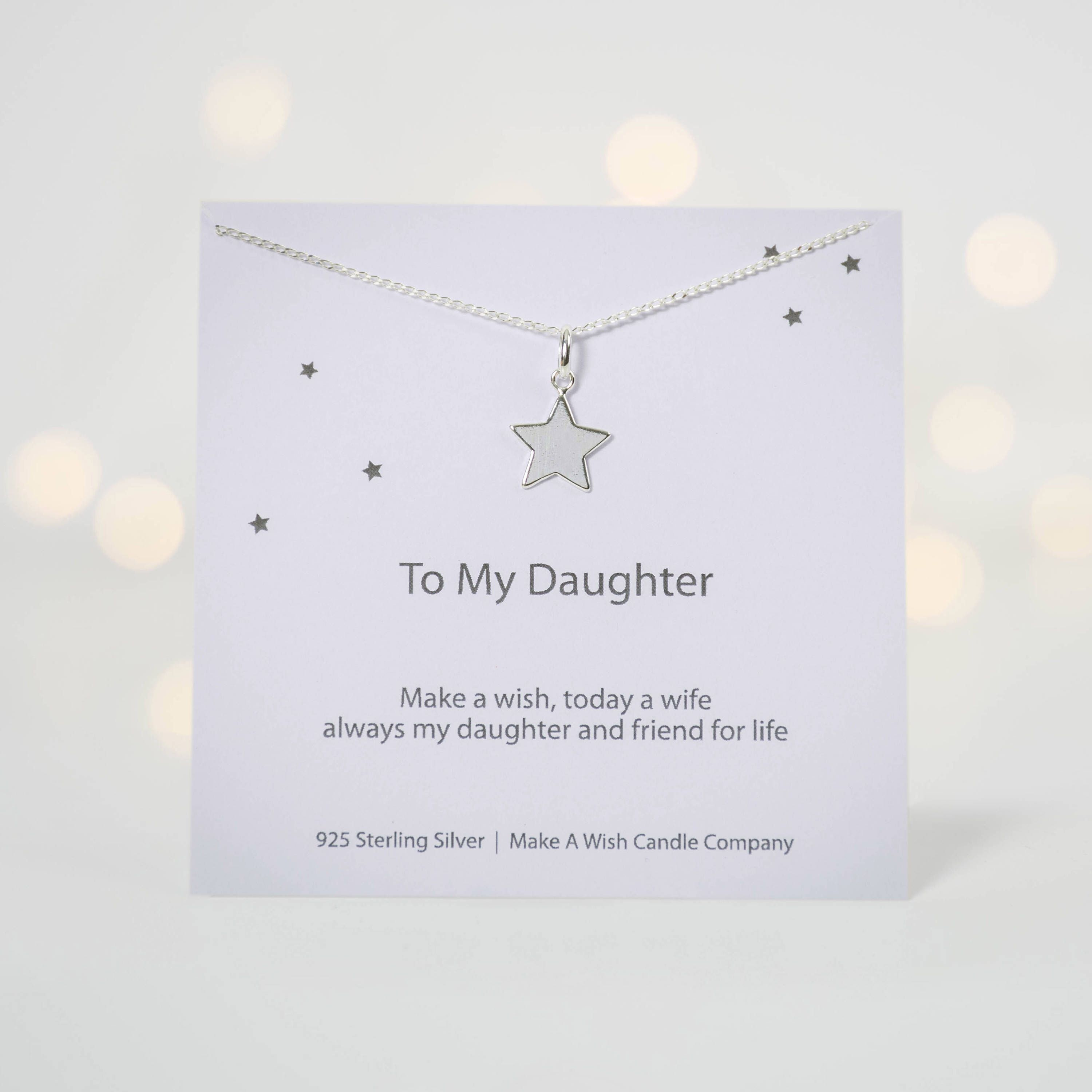 Daughter on her wedding day gift mother daughter gift my