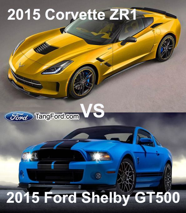 2015 Ford Shelby Gt500 Vs 2015 Corvette Zr1 New Ford Cars 2015