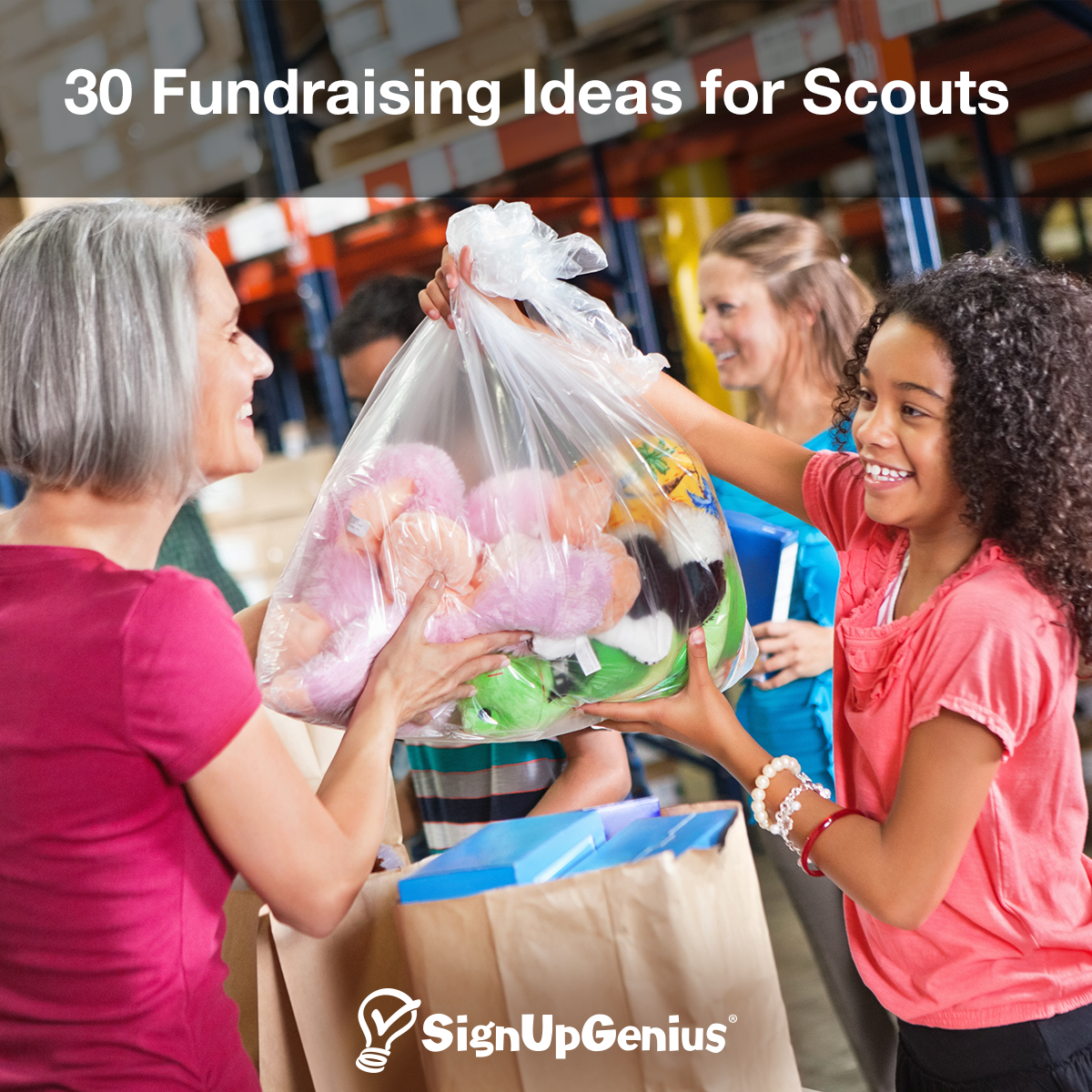 30 fundraising ideas for scouts. creative tips for boy scouts and