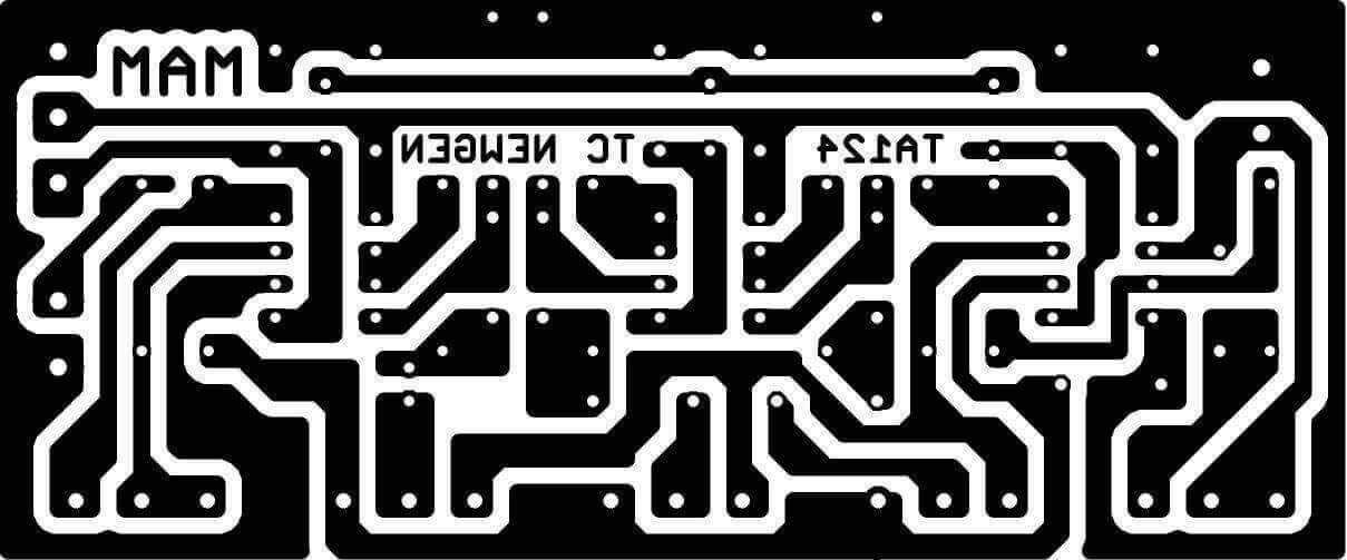 PCB Design Tone Control NE5532 | Audio | Pinterest | Circuit diagram ...