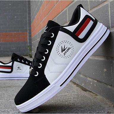 32 39 Men S Sneakers Comfort Shoes Sporty Casual Daily Outdoor Walking Shoes Faux Leather Wear Proof White Red Yellow Color Block Fall Eu40 Comfortable Mens Shoes Mens Casual Shoes Sneakers Men Fashion