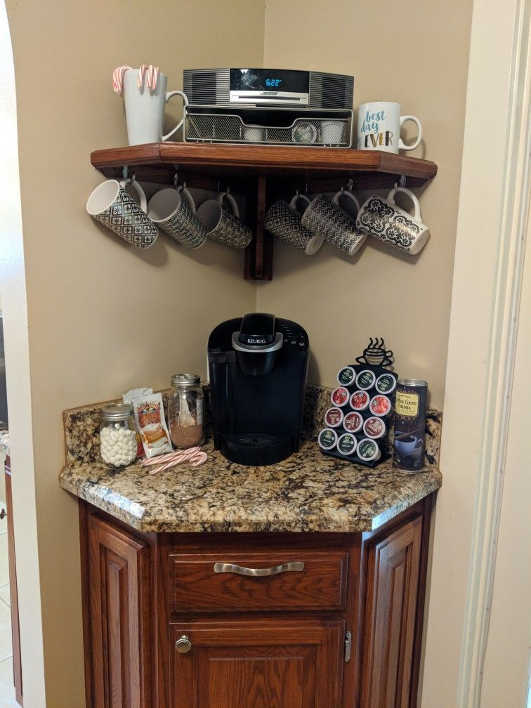 Put Together A Coffee Hot Chocolate Bar In My Kitchen For