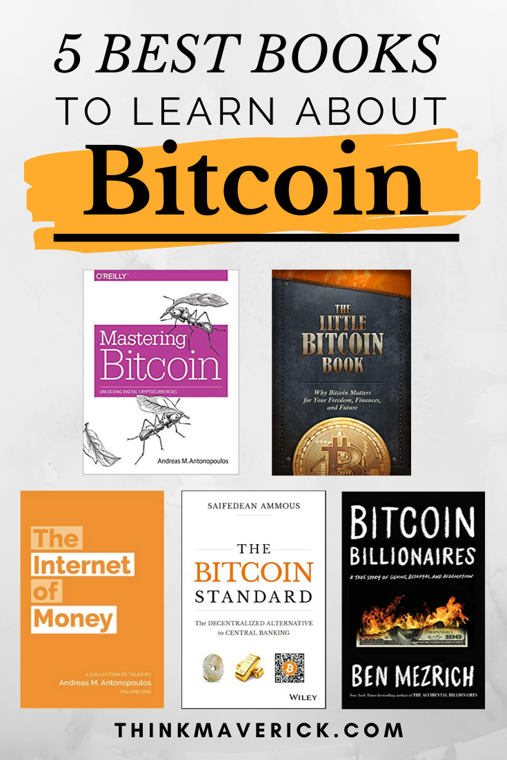 5 Best Books To Read On Bitcoin and Cryptocurrency