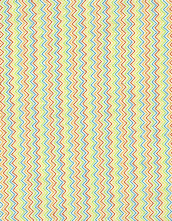 Mini+Chevron+fabric++red+blue+orange+yellow+green+by+fabricfrantic ...