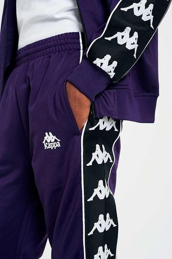 f4940f21 Kappa Banda Astoria Purple Track Pants | Kappa | Kappa tracksuit ...