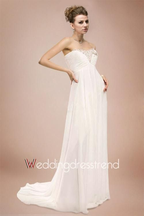 139 00 Attractive D Beaded Strapless Maternity Wedding Dress