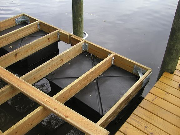 My Floating Dock Build Property Projects Construction Floating Dock Floating Dock Plans Floating House