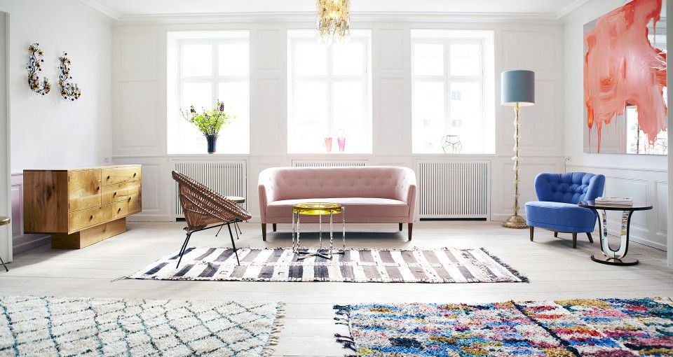 Paint on mirror artwork......The Apartment by Tina Seidenfaden Busck and Pernille Hornhaver