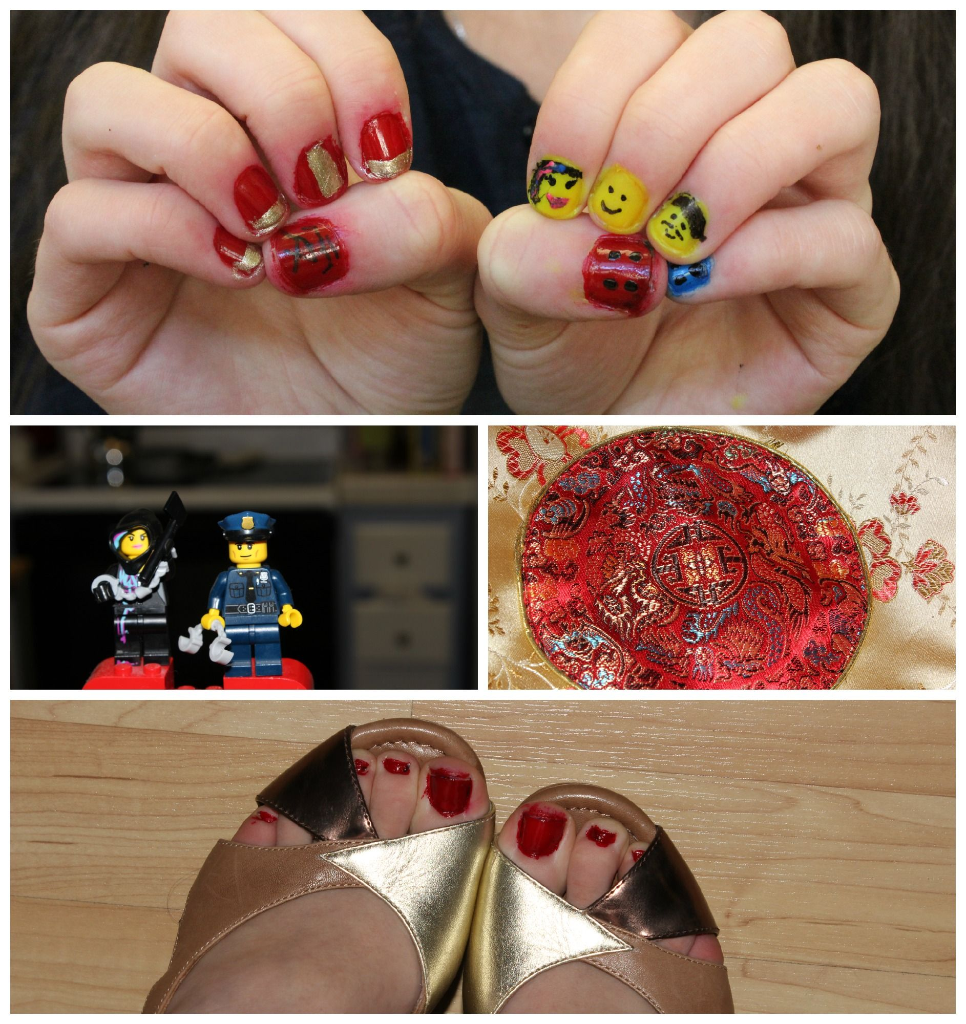Lego Nailschinese New Year Impossible Nail Art I Will Never Do