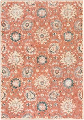 Surya Pink Serene Sre 1002 Rug Traditional Rectangle 1 10 X 2 11 Area Rugs Neutral Area Rugs Area Rug Collections