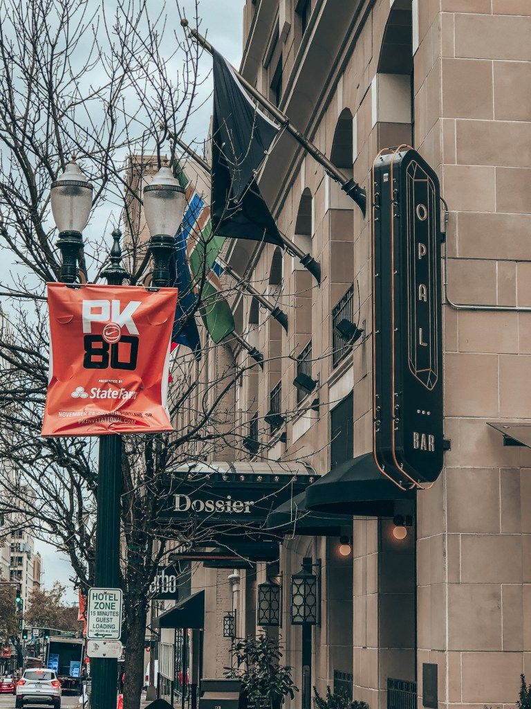 Staying At The Dossier Hotel Downtown Portland City Views Explore