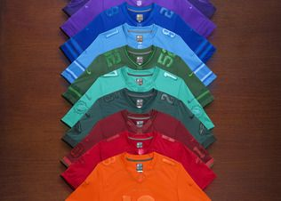 """NIKE, Inc. - Nike Football Celebrates NFL Fans with 32 Special Edition """"Get Drenched"""" Team Jerseys"""