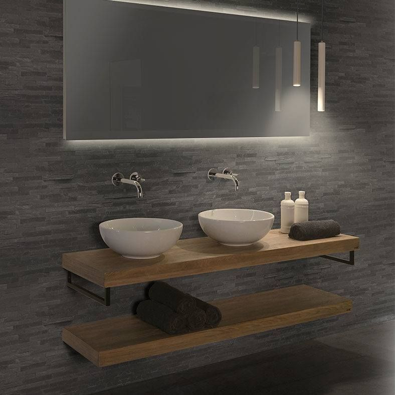 Best Badkamer Plank Voor Wastafel Images - New Home Design 2018 ...