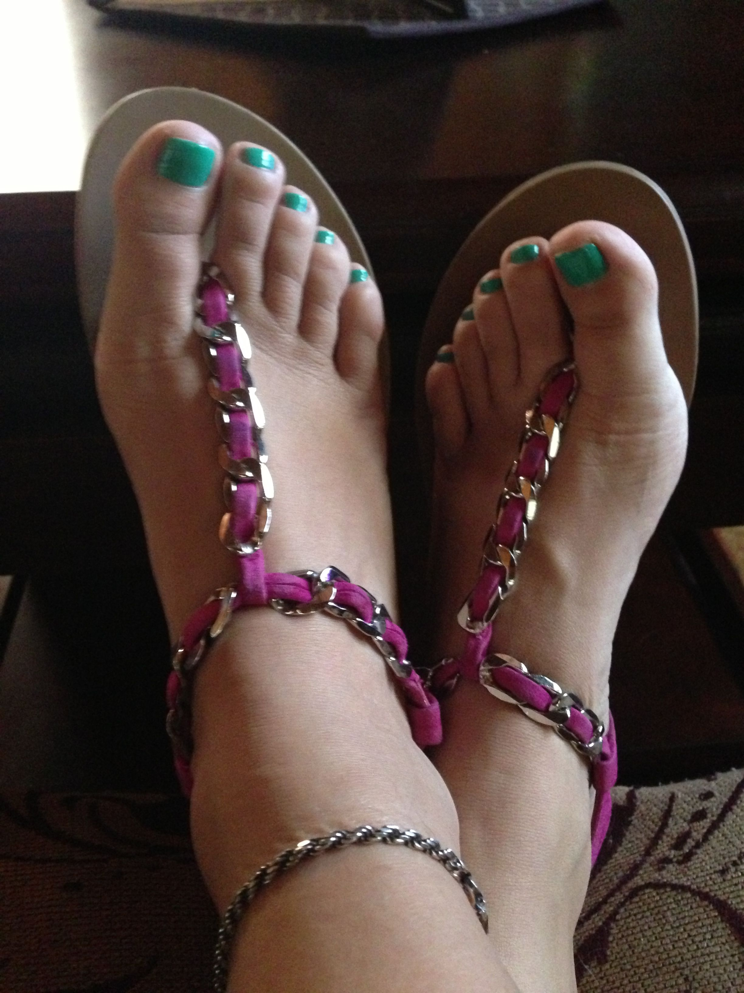 #mint toes #jessica simpson sandals | Fab shoes, Painted ...