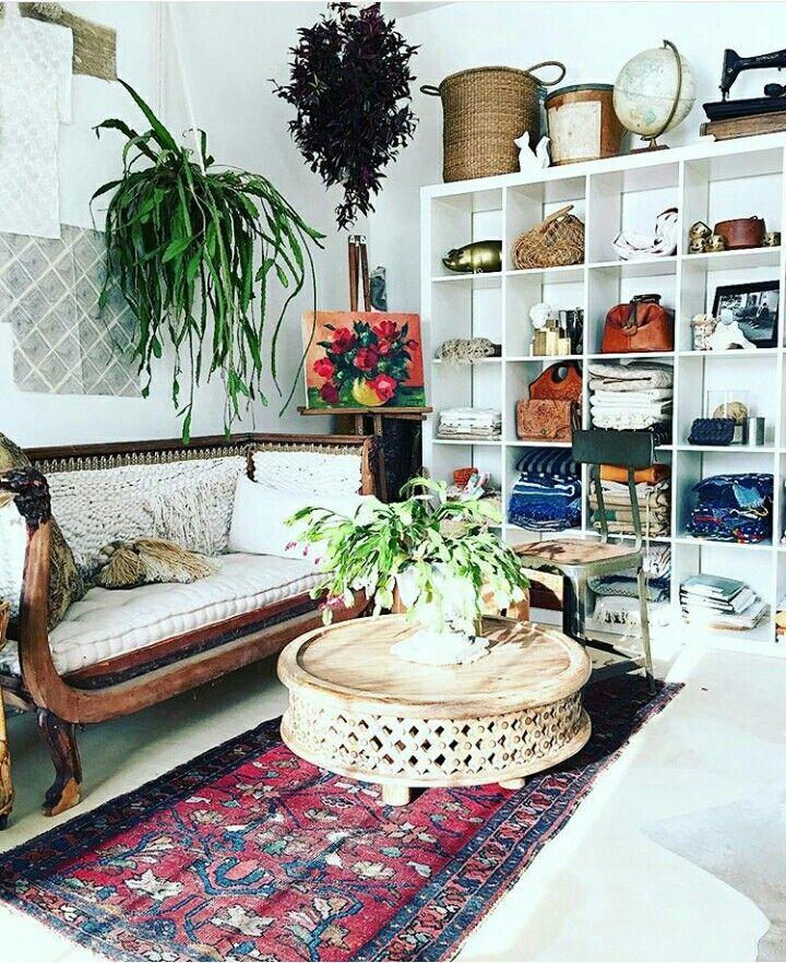 Ikea White expedit Livingroom