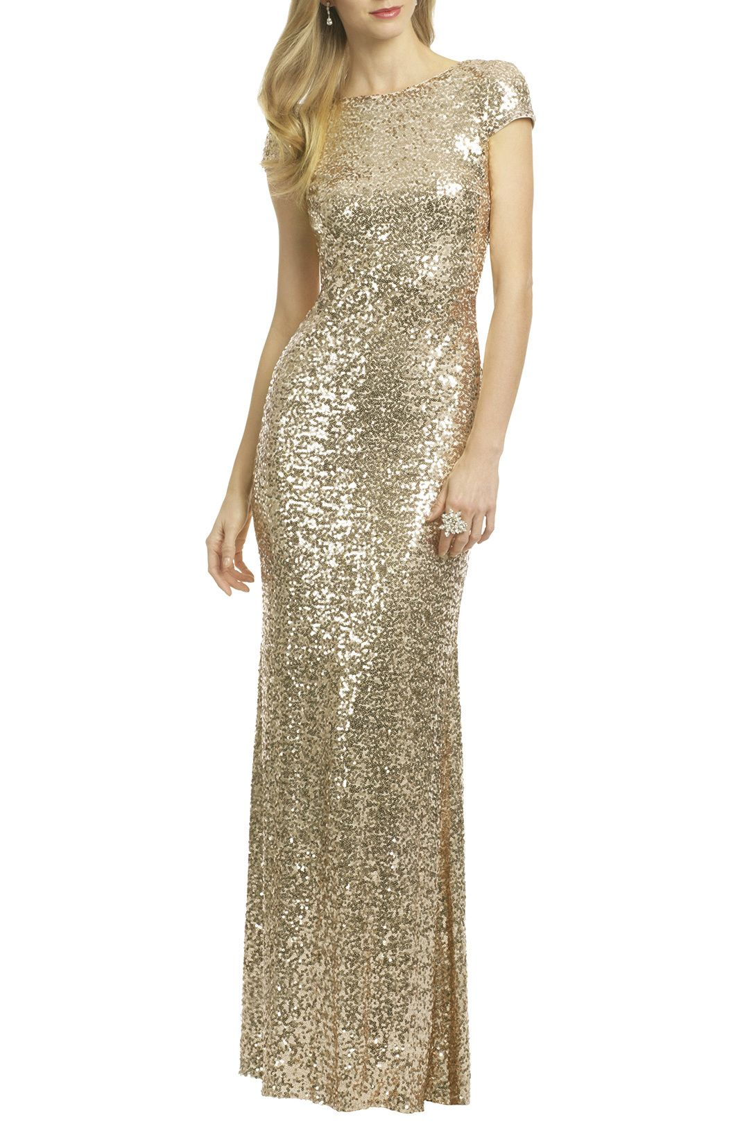 Badgley mischka night at the oscars gown bridesmaid dresses