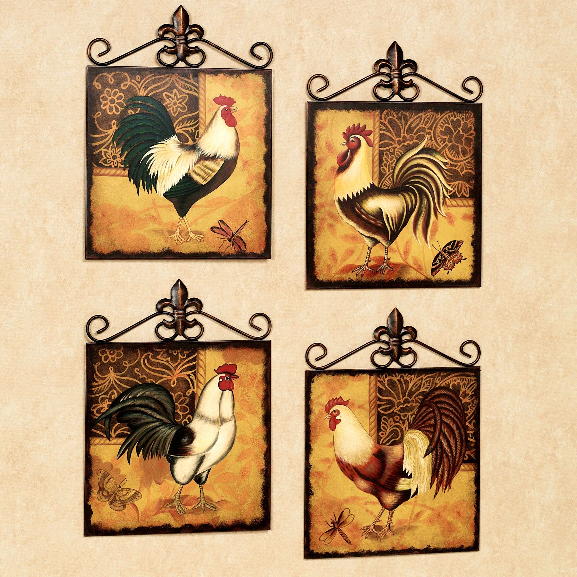 accessories:archaicfair rooster kitchen collection country home