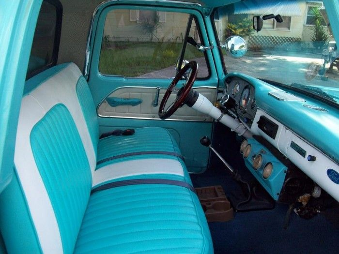 Pin By Julie Bond On Upholstery 1965 Ford F100 1949