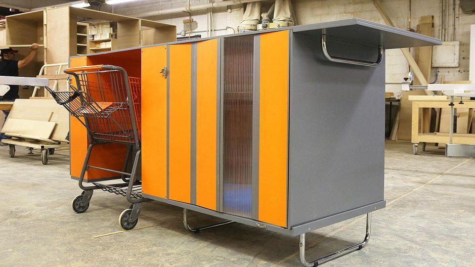 Does This Portable Homeless Shelter On Wheels Help Solve Homelessness Or Enable It Homeless Housing Tiny House Design Homeless Shelter