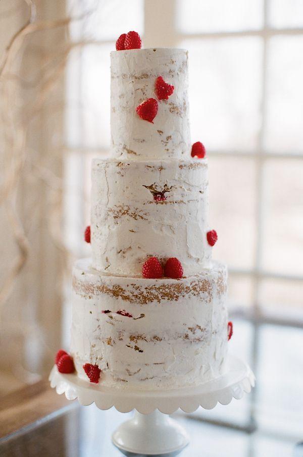 afternoon tewedding theme ideas%0A Trend Alert  Naked Wedding Cakes via Society Bride