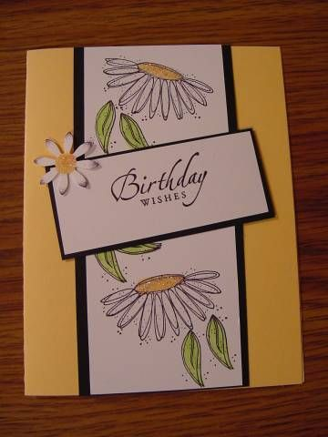Birthday Wishes using Stampin' Up! In Full Bloom