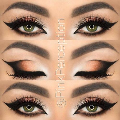 42 Most Attractive Makeup Ideas for Dark Green Eyes
