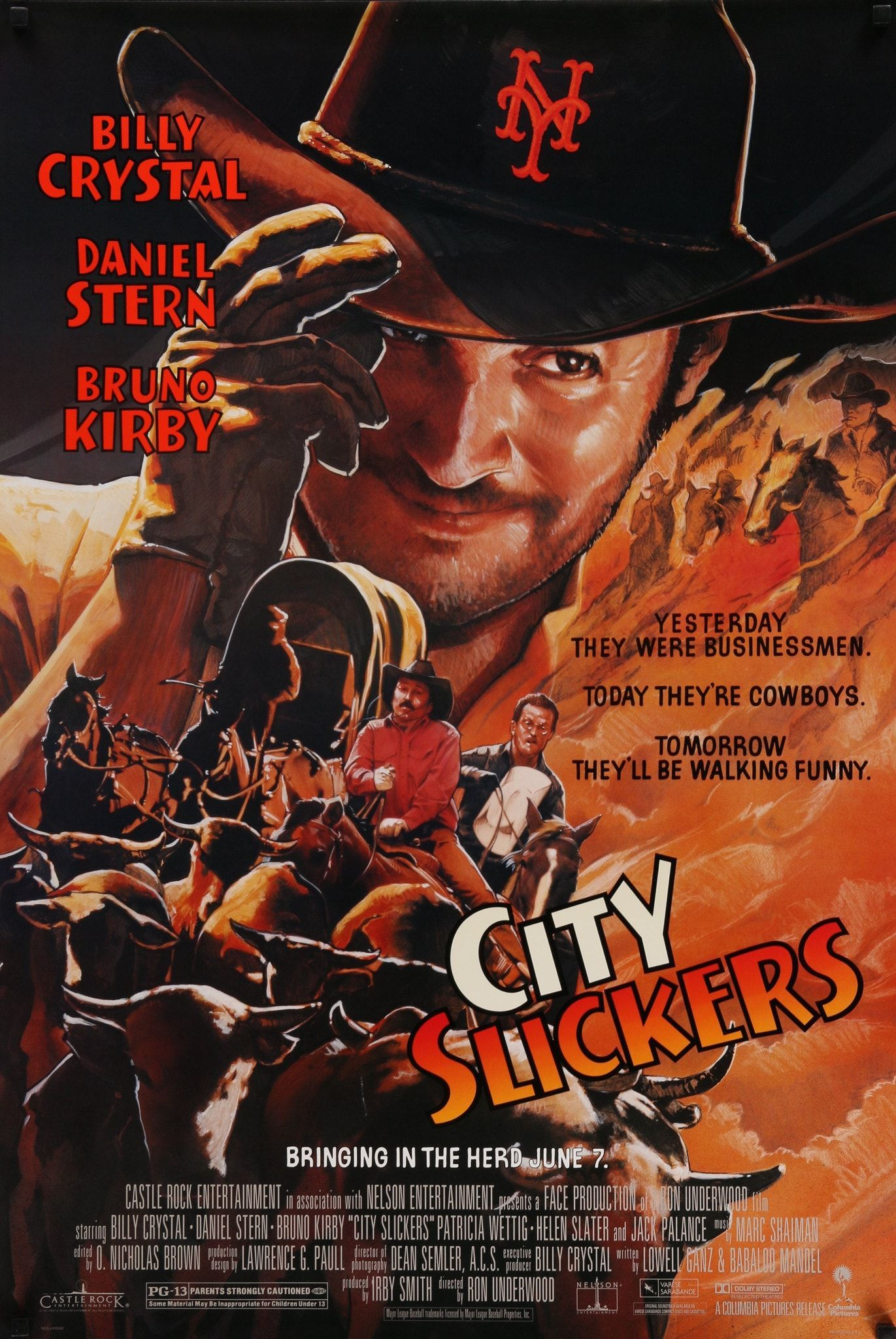 Film City Slickers 1991 Year Poster Printed 1991 Country Usa Size 27 X 40 Artist John Alv City Slickers Original Movie Posters Movie Posters