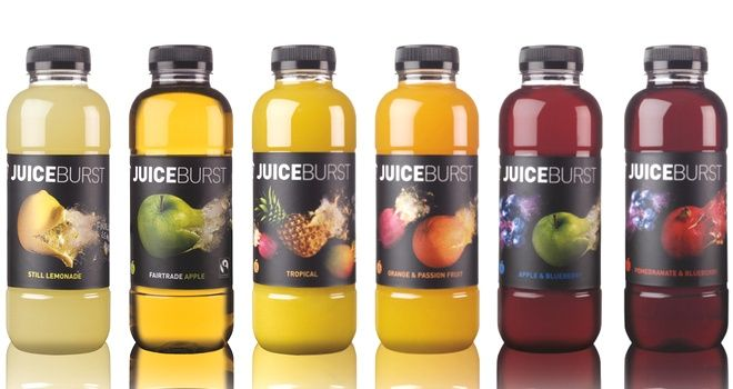 JuiceBurst launches stevia-sweetened 330ml range