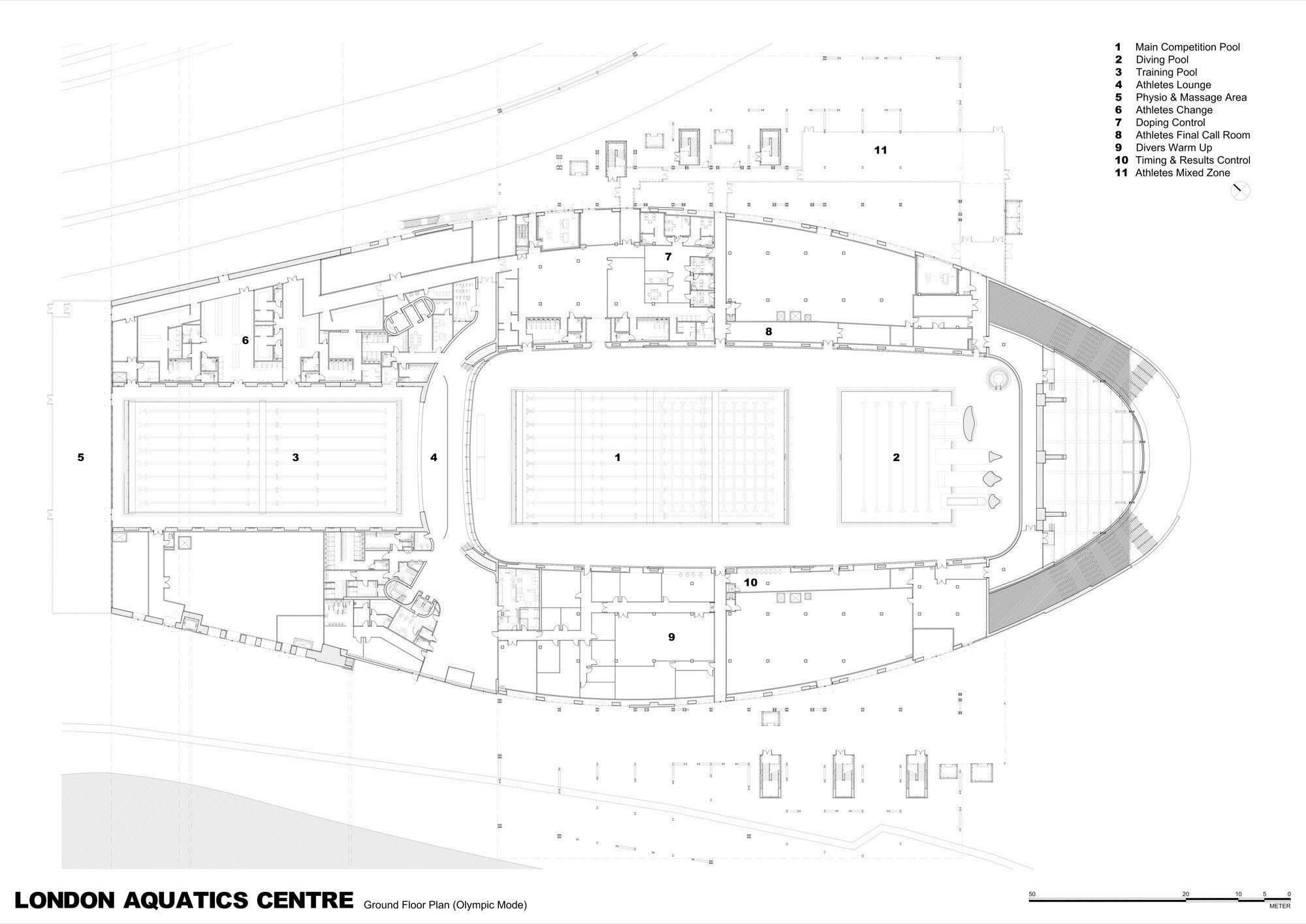Gallery   London Aquatics Centre For 2012 Summer Olympics / Zaha Hadid  Architects   59