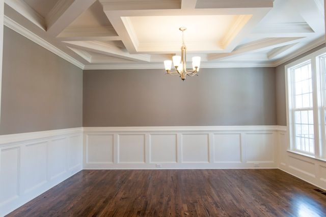 Wainscoting dining room google search w e m b l e y for Dining room wainscoting