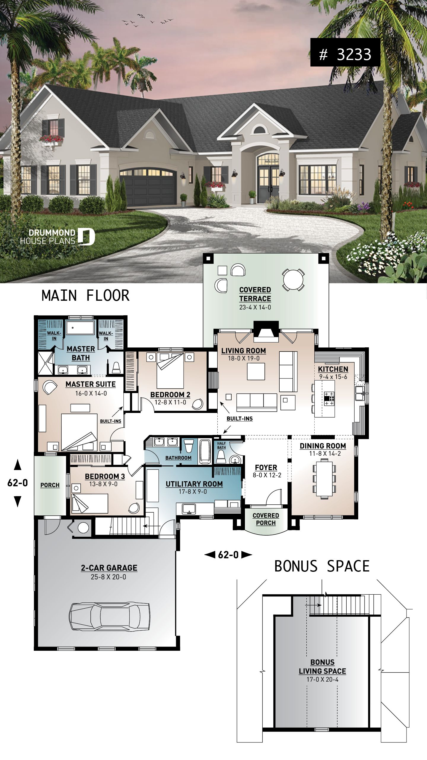 Discover The Plan 3233 Millport Which Will Please You For Its 3 Bedrooms And For Its Ranch Styles Sims House Plans House Blueprints House Plans