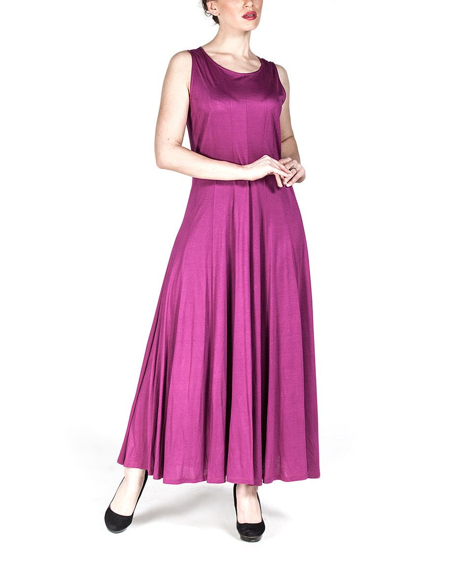 a49309c85579 Loving this Fuchsia Pleated A-Line Dress on  zulily!  zulilyfinds ...